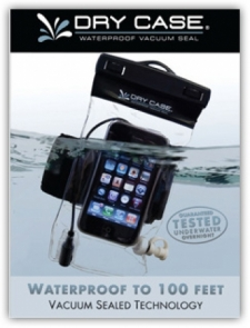 DryCASE Waterproof phone, camera and music player case...test off.... - Product Image