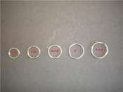 "1 1/8"" Inch SS Split Ring ""304SS"" - Product Image"