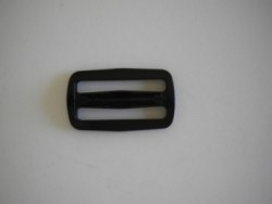 "1 1/2"" Inch Plastic Slider No Teeth ""smooth""   Heavy Duty Type - Product Image"
