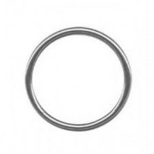 "1 1/2"" Stainless Steel Wielded Ring - Product Image"