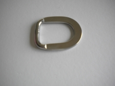 "1"" Inch Flat Style D-ring Long Style - Product Image"
