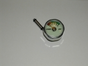 Pony Bottle Gauge w/ Stem in PSI - Product Image