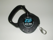 "150' Recreational Reel ""BLACK body w/ white line"" - Product Image"