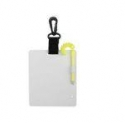 "6""x5"" Slate with Swiveling Plastic Clip - Product Image"