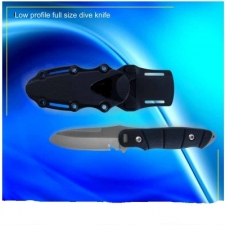 Low Profile Stainless Steel Dive Knife - Product Image