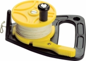 Clicker Reel 150ft Yellow spool w/ black body - Product Image