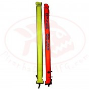 """**1 left!!** 45"""" Inch Tall Hog Rocket RED SMB  ..""""Closed bottom Smb""""  - Product Image"""