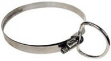 """2"""" Inch Stainless Steel D-Ring Combo """"large cylinder model"""" - Product Image"""