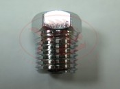 1/4 NPT male to 3/8-24 female Stainless Steel Fitting - Product Image