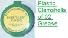 1/4 Oz Christo-Lube 02 Grease CLAMSHELL Package - Product Image