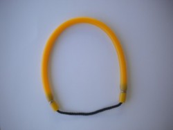 "14"" Inch Amber LATEX Pole Spear Lanyard - Product Image"