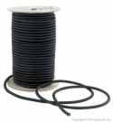 "50 foot Roll 1/4"" Bungee Shock Cord  ""BLACK"" ...Commercial Grade - Product Image"