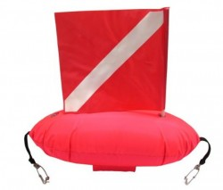 SpearFishing Float w/ Shark Clips on Each End - Product Image