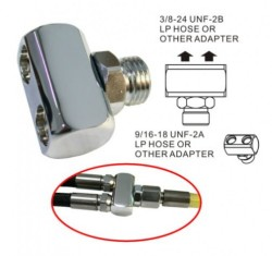 "2 Way Low Pressure Hose Adapter ""Y Adapter!"" - Product Image"