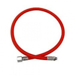 "84"" Double Braided Low Pressure Hose RED - Product Image"