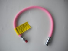 "28"" Double Braided BC Hose ""PINK"" - Product Image"