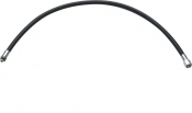 """NEW! 96"""" Double Braided Low Pressure Hose BLACK - Product Image"""