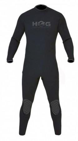 Hog 5mm Salute MENS Wetsuit All Black Color Suit - Product Image