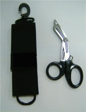 Black Handle Shears with pouch  - Product Image
