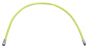 """NEW! 18"""" Double Braided Low Pressure Hose YELLOW - Product Image"""