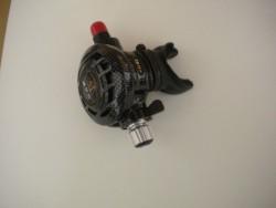 """Piranha Explorer Adjustable """"WMD"""" Extreme Diving 2nd Stage  """"Carbon Fiber""""  - Product Image"""