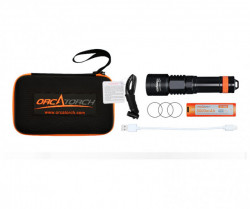 Orcatorch 1700 Lumens Dive Light * Special includes a 5 liter dry bag! - Product Image