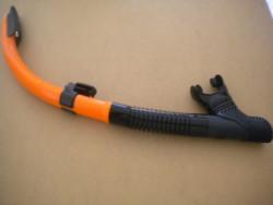 "IST Semi-Dry Snorkel "" Orange Trim / Black Skirt"" - Product Image"