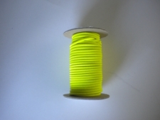 """New! 1/8"""" Bungee Shock Cord """"Neon Yellow / BLUE Tracer 50ft Mini Spools! """"Commercial Grade"""" - Product Image"""