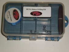 50 Piece Buna O' Ring Kit w/ Grease & Plastic O-ring Pick - Product Image