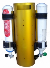 Piranha Rebreather Canister Frame - Product Image