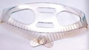"Mask Strap ""CLEAR"" Silicone Model - Product Image"