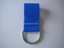 2 Inch Webbing D-Ring 6mm    BLUE - Product Image
