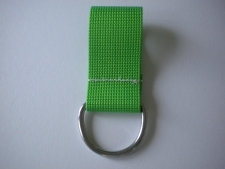 2 Inch Webbing D-Ring 6mm    GREEN - Product Image