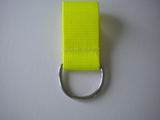 2 Inch Webbing D-Ring 6mm    YELLOW - Product Image