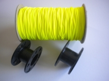 "2 Large hole Molded Bare Spools w/ Piranha Dive Line ""Yellow Line"" Combo Set - Product Image"