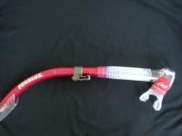 Tiara 2 Semi-Dry Snorkel  Metal Ruby  - Product Image
