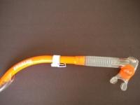 Tiara 2 Semi-Dry Snorkel  Orange - Product Image