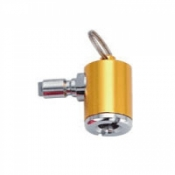 Key Ring Tire Inflator (Gold) - Product Image