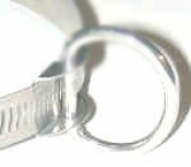 "1"" Inch Stainless Steel D-Ring Combo ""small"" - Product Image"