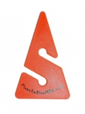 Orange Line Arrow - Product Image