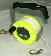 "290' Tec Reel ""Yellow"" - Product Image"