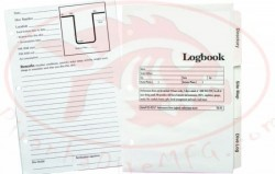Deluxe 3 Ring Log Book Inserts w/ Tabs - Product Image