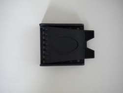 BLACK Plastic 2 slot Buckle - Product Image