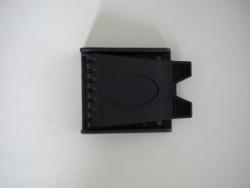 BLACK Plastic 2 slot Buckle - Product Image