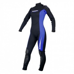 "3mm Womens Back Zip Wetsuit ""flat stitch Design"" - Product Image"
