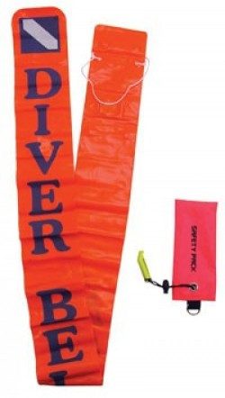 "5' 5"" Vinyl Orange Smb w/Carrying Pouch! - Product Image"