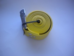 """55"""" (140cm) Rubber Weight Belt with Standard SS Buckle """"1 Only in Yellow !"""" - Product Image"""