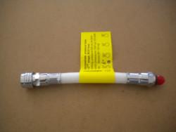 "New! 6"" Double Braided BC Hose ""WHITE"" - Product Image"