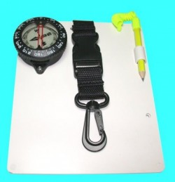 "5"" x 7"" Quick Release Slate w/ Large Compass - Product Image"