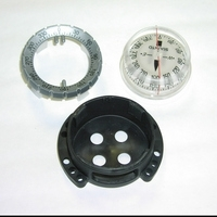 SK7 / SK8 Compass BLACK Mount ONLY! Does not include compass or fitting! - Product Image